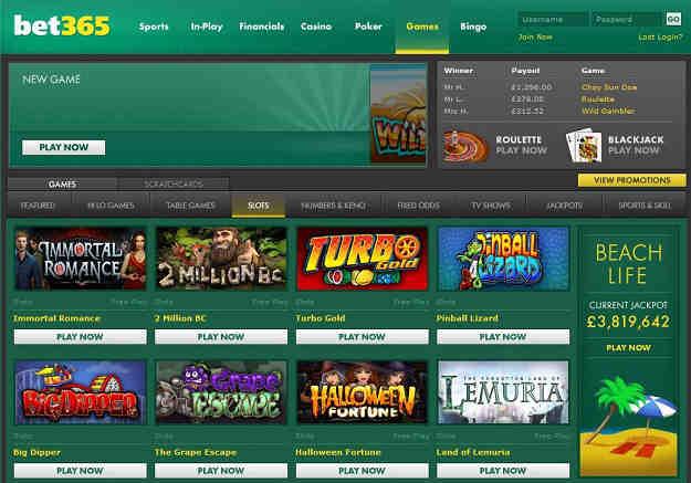 Bet365 Casino review - Casino.com India